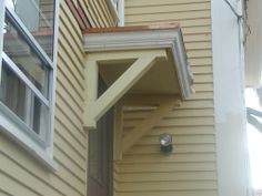 Small Porch Roof | more exterior painting