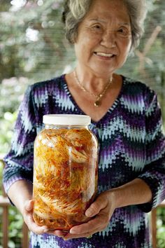 Korean Kimchi recipe. Will make without the shrimp and fish sauce. Looks beautiful!