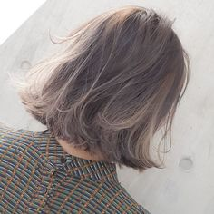 ideas for haircut hombre fashion Blunt Bob Haircuts, Cool Haircuts, Lob Hairstyle, Pretty Hairstyles, Hairstyles 2018, Medium Hair Styles, Curly Hair Styles, Long Hair Highlights, Hair Color Balayage
