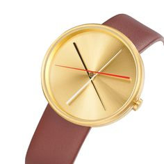 Crossover BRASS Watch by Projectswatches is 40mm in diameter