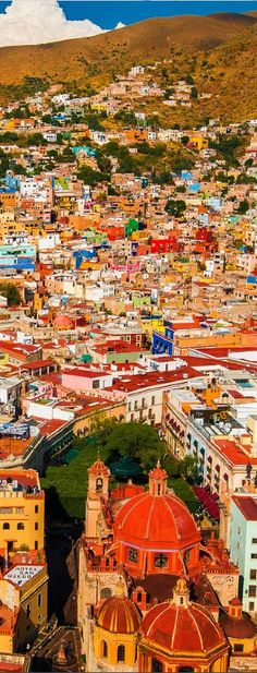 Guanajuato, Mexico beautiful places for travel