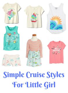 Simple Cruise Style for Little Boys and Little Girls to WearMomTrends