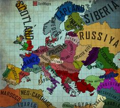 An Alternate Europe - Map 1.0 by AenMaps.deviantart.com on @DeviantArt
