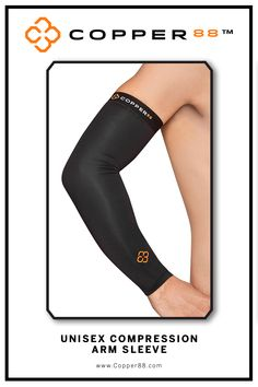 Available in XS to XXL, this Compression Arm Sleeve is the only in the world to have 88% copper embedded in it's fiber composition. The compression supports your muscles and joints aiding in faster recovery time. Comfortably worn during exercise, rest and in the shower.Super-fast wicking keeps garments dry Antibacterial and anti-odour properties will keep you feeling and smelling fresh. Copper88™ fabric attributes are inherent in all our garments and will last for as long as you own our…