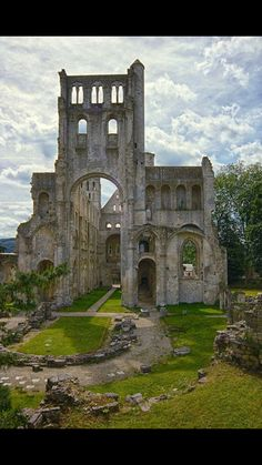Normandy humieges, France!!
