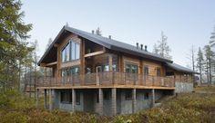 zrubovy dom v Levi (Finsko)