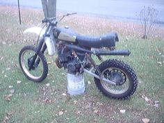 1980 Husqvarna 390CR, bought for $180, in 2005, just as I bought it