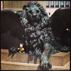 The Lion of Saint Mark - Campo Manin, Venice, Italy