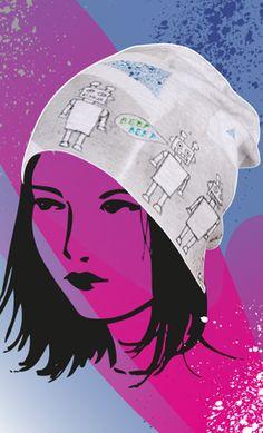 Marabu Fashion-Spray http://marabu.com/k/ilf #Marabu #IloveFashion #Muetze #Beanie #Textilfarbe #Spray #Winter
