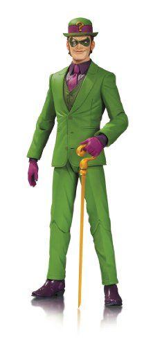 DC Collectibles DC Comics Designer Action Figures Series 1 Riddler Action Figure DC Collectibles http://www.amazon.com/dp/B00GHPHVS6/ref=cm_sw_r_pi_dp_Zccqvb04V39Z4