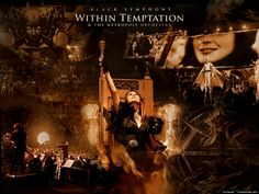 Wallpaper of Within Temptation for fans of Within Temptation.