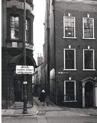 Drury Hill, Nottingham in 1968
