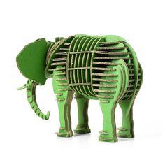 Custom 3d Puzzles - 3D Animal Puzzle - Paper Maker 3D Puzzles for Kids Elephant Model Children's Jigsaw Educational Toys