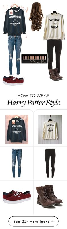 """Ready for Quidditch"" by littlesulley on Polyvore featuring Splendid, Frame Denim, Vans and Forever 21"