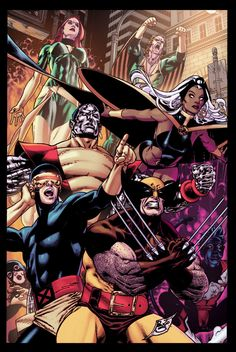 Byrne's X-Men by ~Sqarr