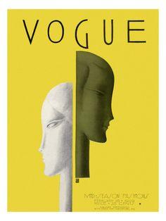Vogue Cover - February 1929 - Eduardo Garcia Benito -  .............#GT