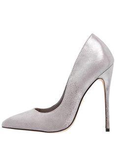 Chaussures Lost Ink CERYS - Escarpins à talons hauts - light grey argent   50,00 € chez Zalando (au 09 12 16). Livraison et retours gratuits et  service ... 104485d7cf09