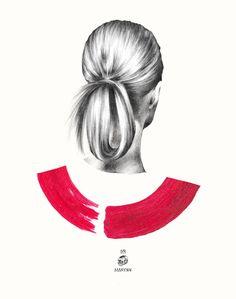 Stunning Pencil Illustrations by Marynn – Fubiz Media