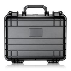 Neewer 13x10x6'/33x25x15cm Waterproof Carrying Case with Cubed Foam for Cameras, Flashes, LED Lights, Lenses and Other Accessories (Black) ** Click image for more details.