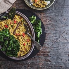 Kale Daal Fry from Cook Republic for #TheBodyBook