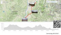 Über die Rhone  Vollständiger Bericht bei: http://agu.li/QL  Aus den Bergen in eine völlig neue Landschaft. Keine Nussbäume mehr, dafür Lavendelfelder. Keine Schneefallgrenze mehr, dafür längere und breitere Tallandschaften. Das GPS meint: 99.74 KM und 1087 Höhenmeter.