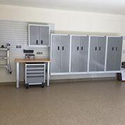 White Gladiator Cabinet System