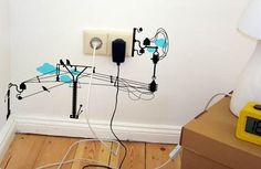 """""""Electronic chaos"""" Vinyl Wall Stickers - Algunas ideas que podemos hacer a tu hogar o negocio"""