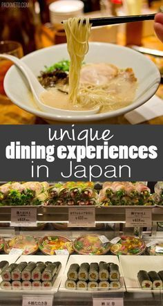 Not To Be Missed Eating Experiences in Japan for Food Lovers   http://packmeto.com