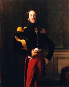 Jean Auguste Dominique Ingres - Duc Ferdinand-Philippe d'Orléans (1842)