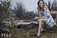Olivia Palermo for ELLE Vietnam April 2015 - Spring Chic