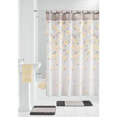 Mainstays 15-Piece Bathroom Sets, Yellow