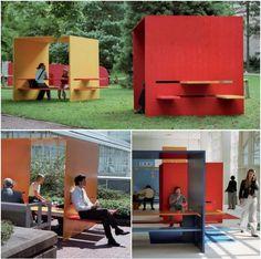 cobertura multifunción para espacios públicos Q-BIG Pircher Oberland