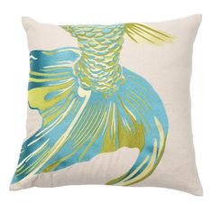 I pinned this Fishtail Pillow I from the emma at home event at Joss and Main!