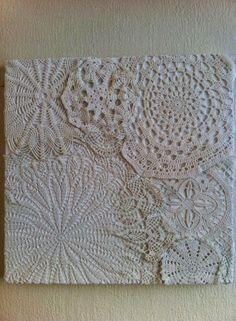 1000 Images About Crafty Ideas Doilies On Pinterest