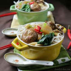 Five Spiced Beef Diakon Noodle Soup /http://bamskitchen.com