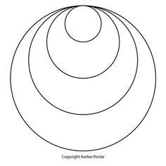 Karlee's Circle #6 | Karlee Porter Dot Painting Tools, Dot Art Painting, Penny Rug Patterns, Mosaic Patterns, Art Template, Templates Printable Free, Mosaic Art, Mosaics, Dot Tattoos