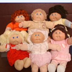 Cabbage patch dolls!
