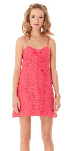 $39 Lilly Pulitzer Pink Karina Empire Waist Sundress