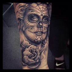 Charlize theron sugarskull on my brother. Artist -chris toler