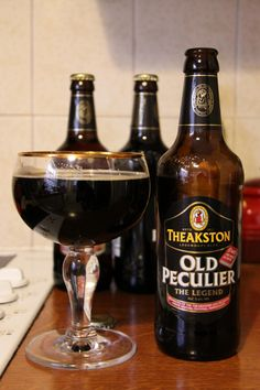 Theakston's Old Peculiar Ale, a favorite since way back when