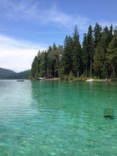 Johnson lake - British Columbia