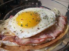 Recipes with Ham - Croque Madame Recipe for Crepes