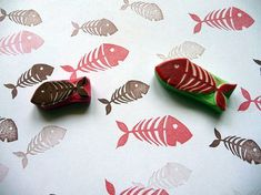 Hey, I found this really awesome Etsy listing at https://www.etsy.com/listing/480525790/fish-bones-rubber-stamp-craft-stamp-fish