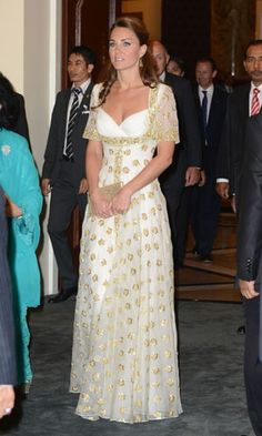 Look of the day | Kate Middleton wearing Alexander McQueen in Malaysia |