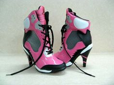 I don't think these are like super cute, but they are PINK JORDAN heels! Crazy:]