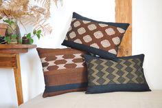 Handwoven cushions La Tòrna