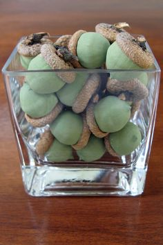 Acorns and Oak Trees      Can you stand another post on Fall crafts?   This is three in a row,   so maybe I better call it a Nature St...