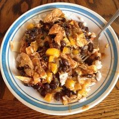 Fast Chicken Over Black Beans and Rice Allrecipes.com