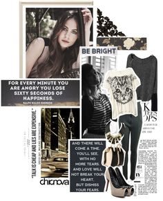 """Be bright CHICNOVA 16."" by kariika ❤ liked on Polyvore"