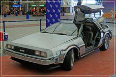 Empire BIG SCREEN :  Replica Back to the Future Doc. Brown's time travelling DeLorean DMC-12 by Craig Grobler, via Flickr